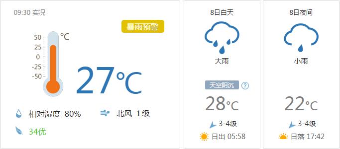 10月8日台风最新消息:福建全省迎大风降雨天气