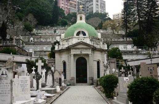 跑马地基督教坟场