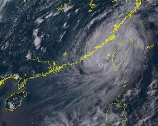 台风最新消息 台风海马或将21日正面登粤,超强台风将带来大面积降水